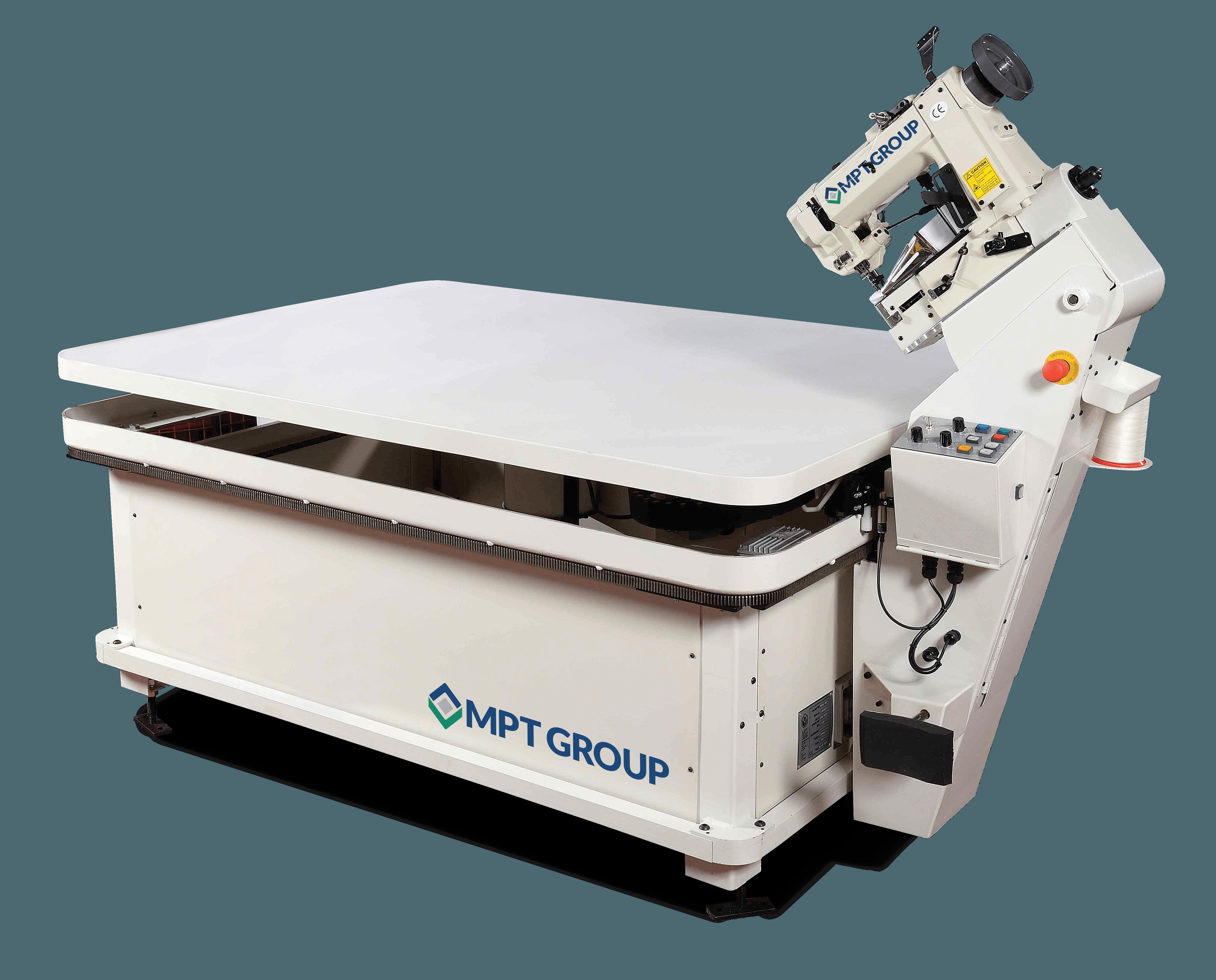 Matramax A high speed electronic tape edge machine