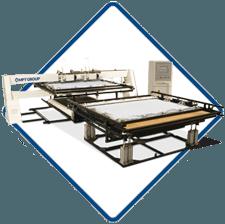 CQT Quilter - CNC twin head matress panel