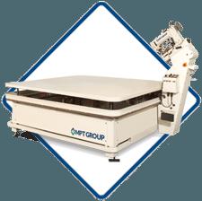 Matramax-hl, A high speed electronic loft tape edge machine