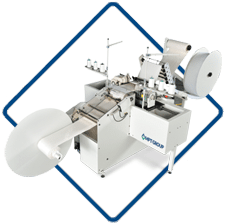 Sergemaster, High speed in-line double border serging system