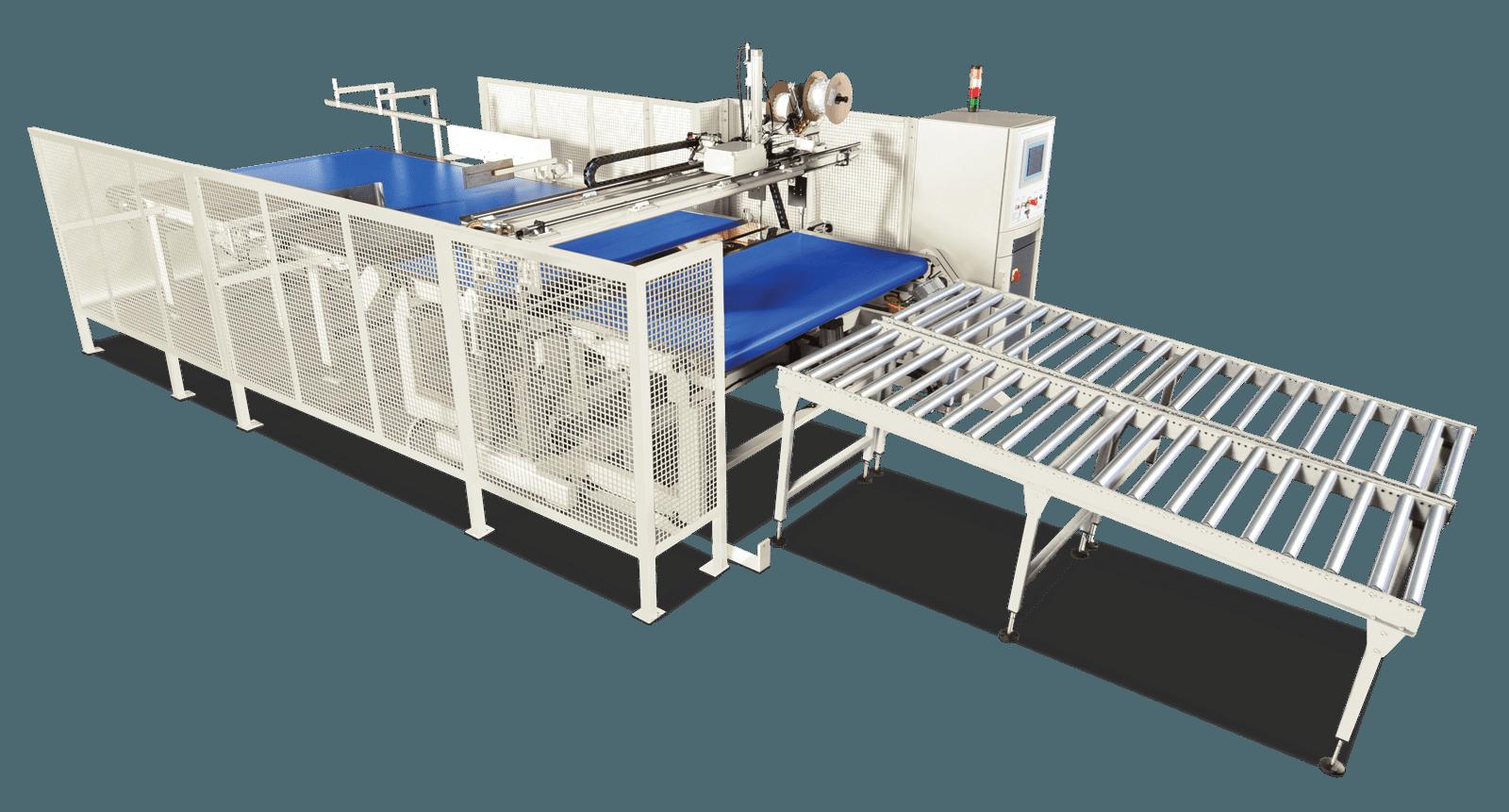 Autotuft Automatic mattress tufting system