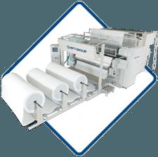 IQuilt, Multi-needle chain stitch quilting machine
