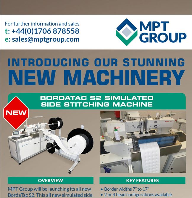 Used Matress Machinery Newsletter, May 6th 2016
