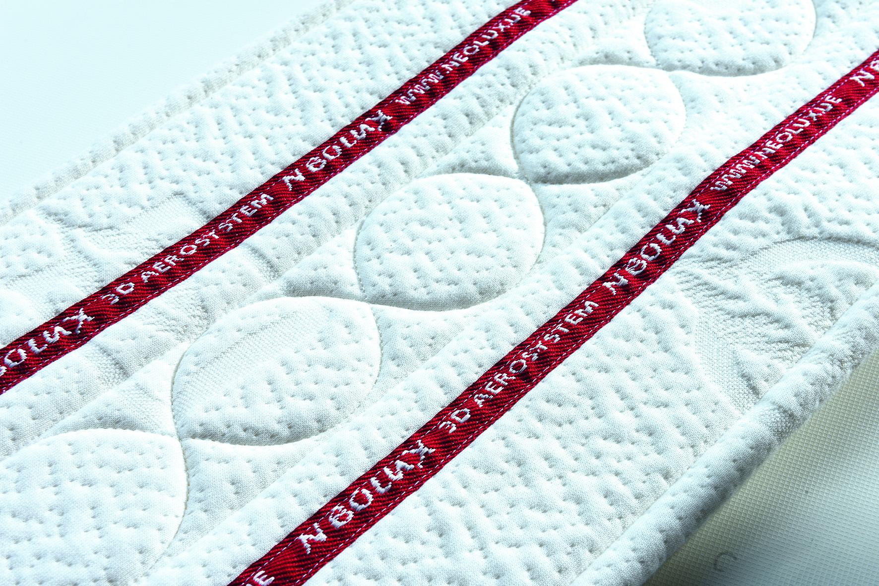 Multi-function 3D mattress border quilting machine detail