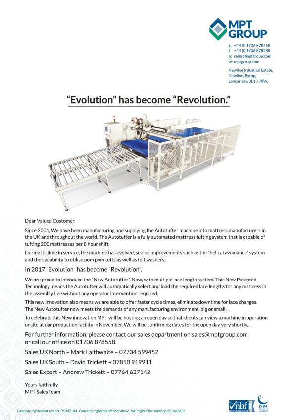 MPTG LH Evolutioin Letter 5.10.17