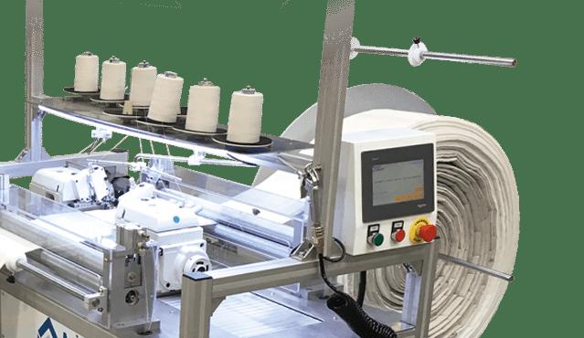 High Speed dual side mattress border Serging System bobbins