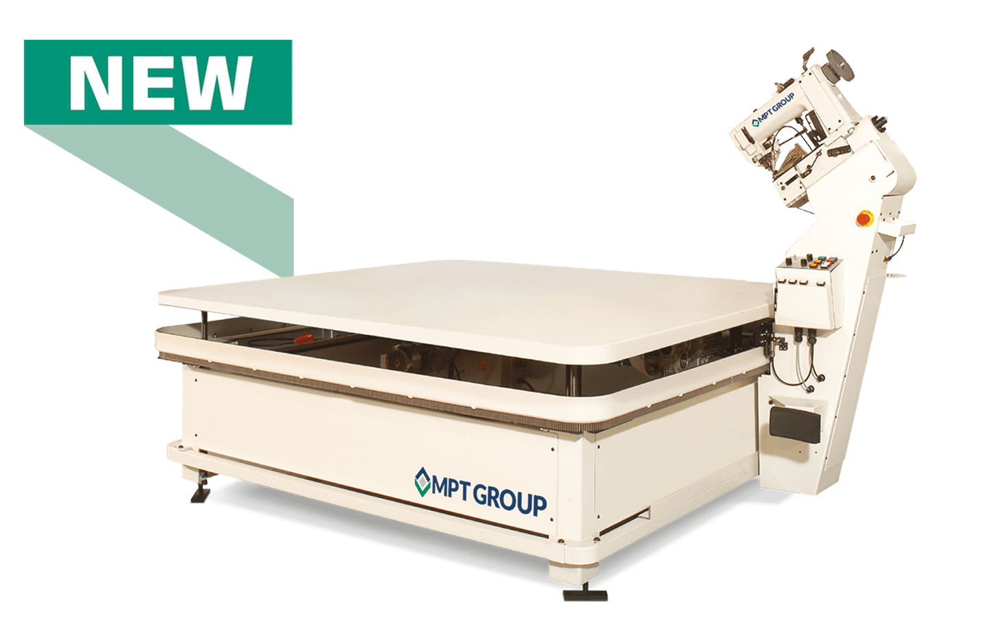 MPT Group Mattress Tape Edge Machine