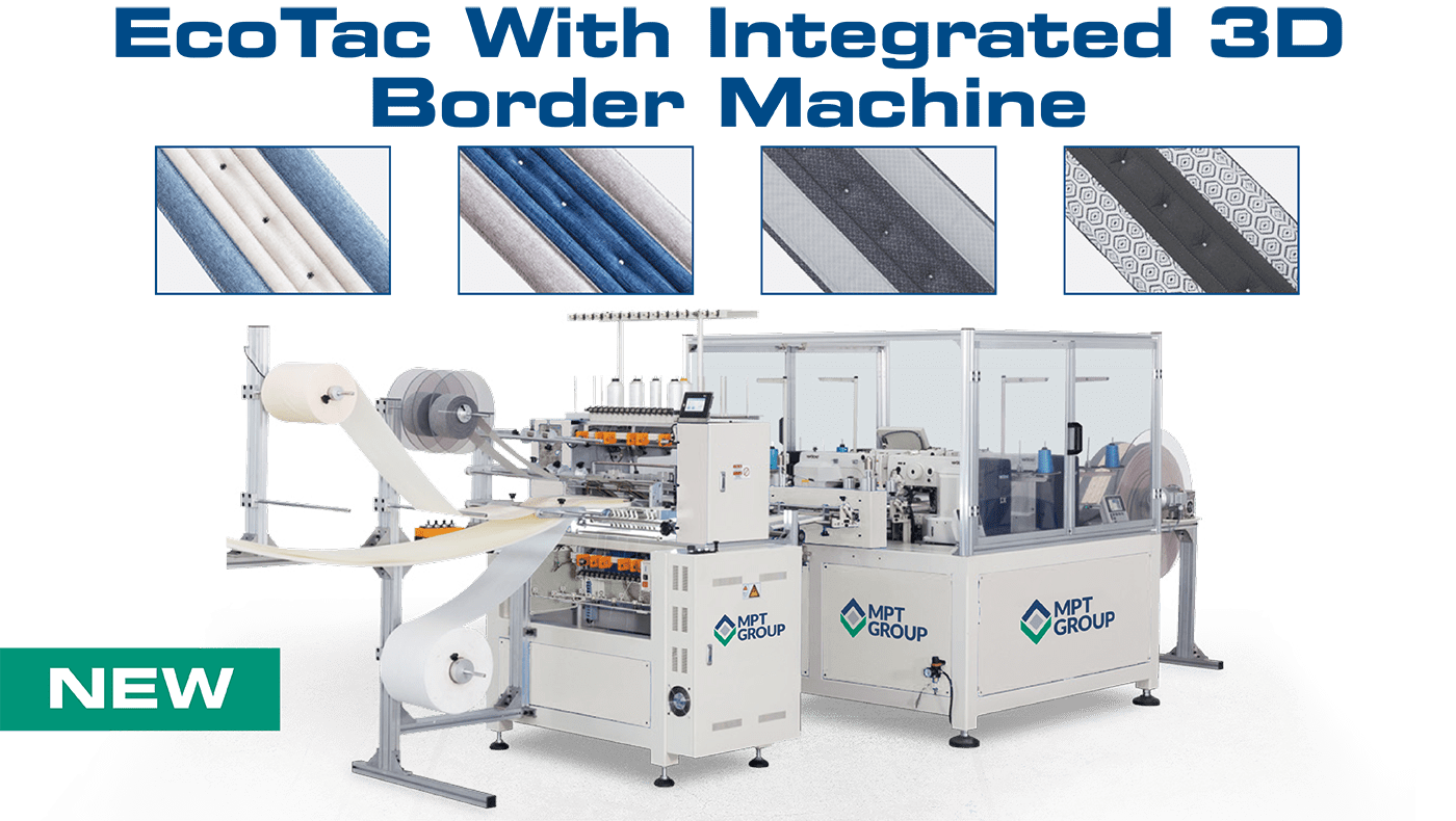 Eco Tac with integrated 3D Border Machine